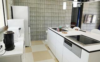 充分な広さのキッチン