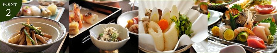山菜から郷土料理まで、北秋田の四季折々の味覚をご提供。