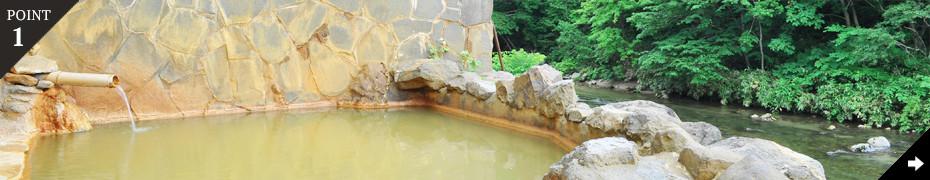 明治から伝わる100%源泉かけ流しの湯治宿。道南の名湯を満喫