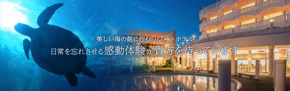 美しい海の側に佇むリゾートホテル 日常を忘れさせる感動体験が貴方を待っています