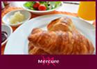 【Mercureスタンダード】北海道×フレンチの朝食ビュッフェ!本格クロワッサンやフォアグラパテも☆