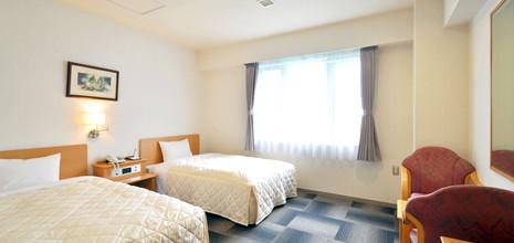 ビジネスから観光まで幅広く対応、様々なお部屋タイプをご用意しております