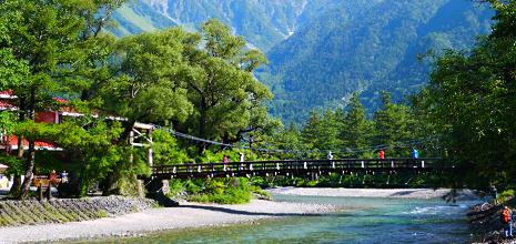上高地周辺の観光に最適 非日常を楽しむ旅の拠点